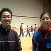 九州大会練習風景